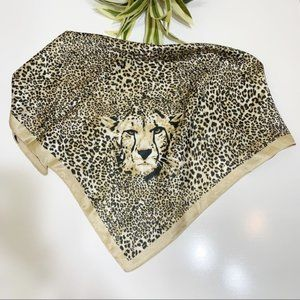 Scarf Animal Print Square